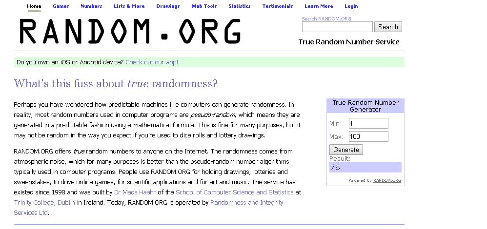 Minigame random.org - [Tổng hợp] 20 Minigame cho chị em bán hàng mùa sale cuối năm 2018